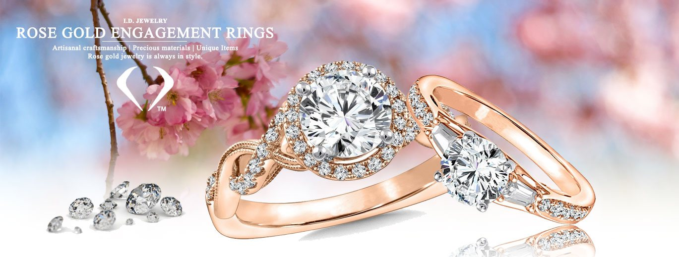 image glacier product rose gold of canadian diamond fire white rings and ring engagement