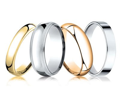 Classic Wedding Bands Jewelry image