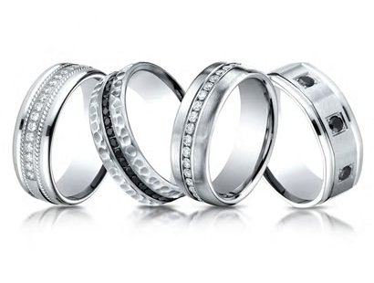 Men Wedding Bands Jewelry image