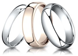 benchmark wedding rings