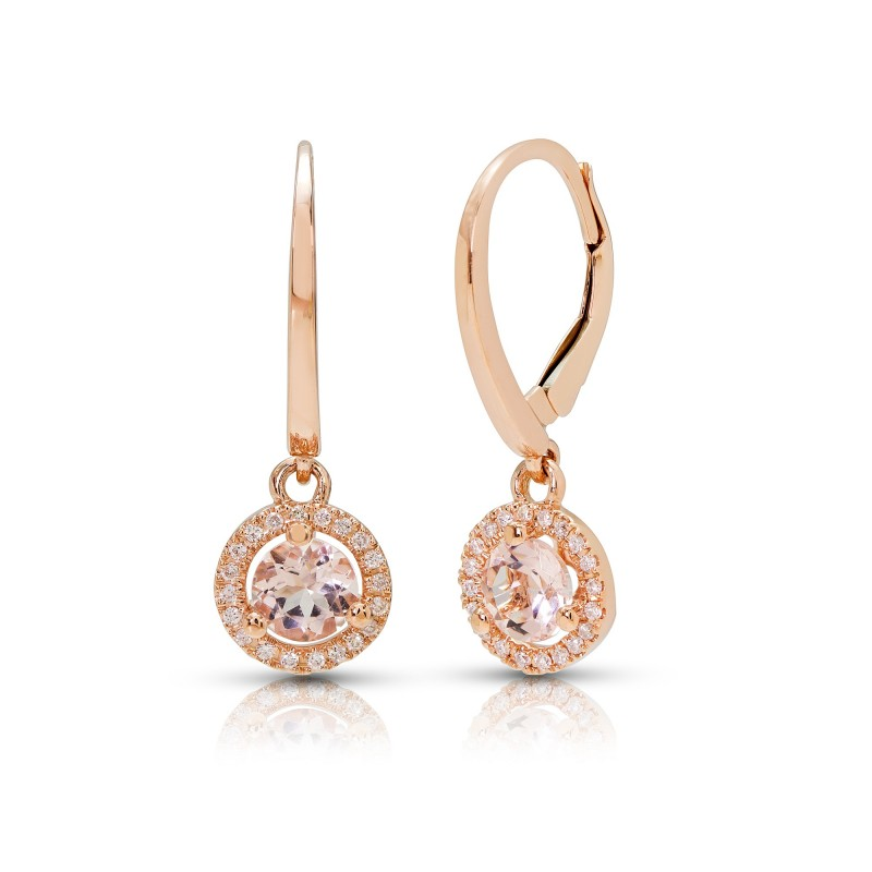 Morganite Earrings image