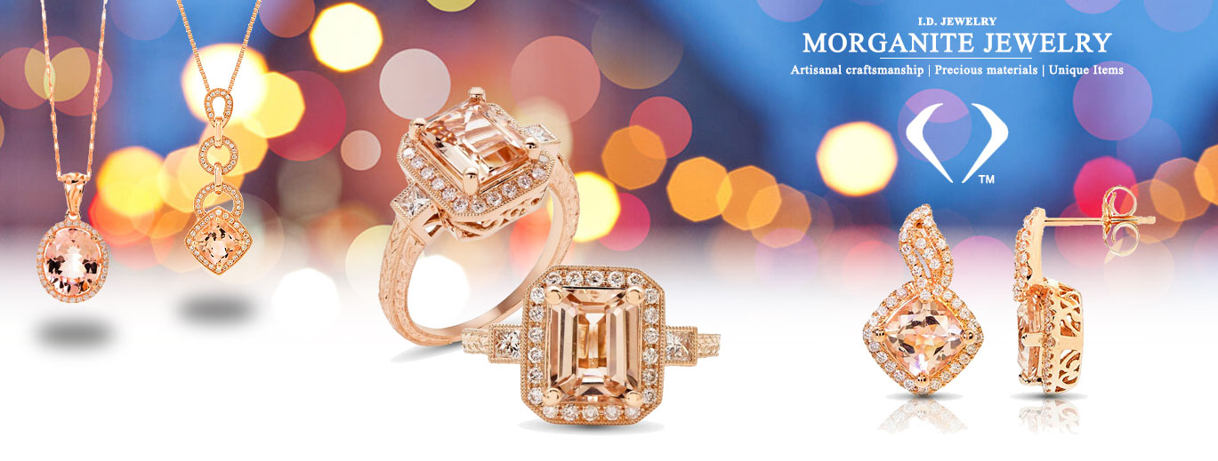 Morganite Jewelry Banner