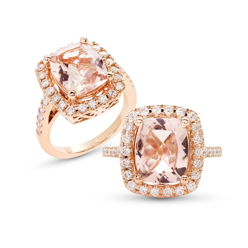 Morganite Rings image
