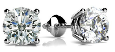 diamond stud earrings nyc